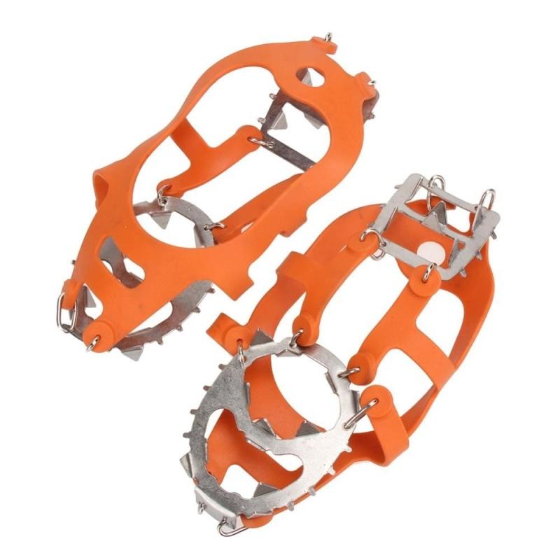 Mua Winter Crampons Anti Slip Ice Cleats Gripper Shoe Chain Spike Sharp Snow - intl