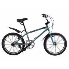 Xe đạp BMX, hiệu FURY, mã MX-2F ( xám đen )