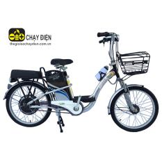 Xe đạp điện Bmx khung sơn 22 inch (Bạc)