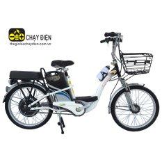 Xe đạp điện Bmx khung sơn 22 inch (Trắng)