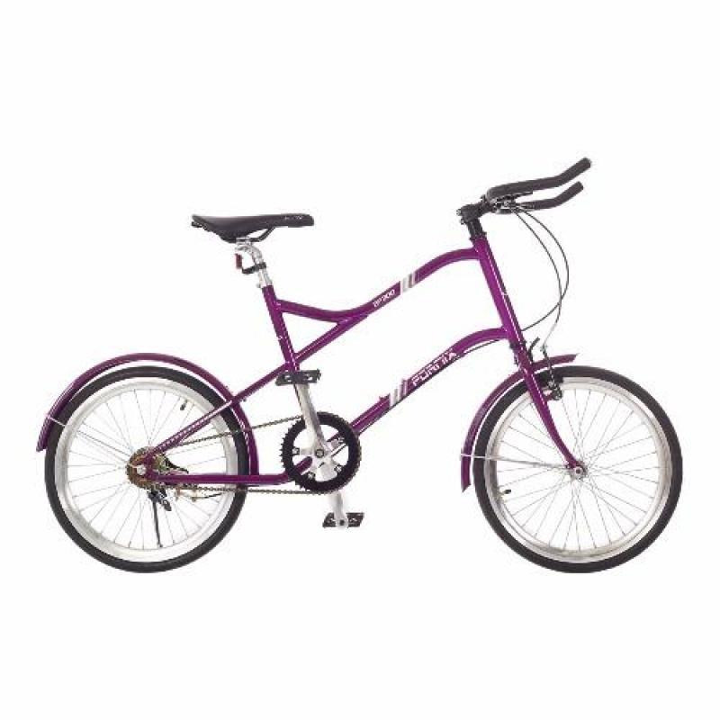 Phân phối Xe đạp FORNIX MINI FIXEDGEAR- BF300 20'' sườn sắt (Tím)