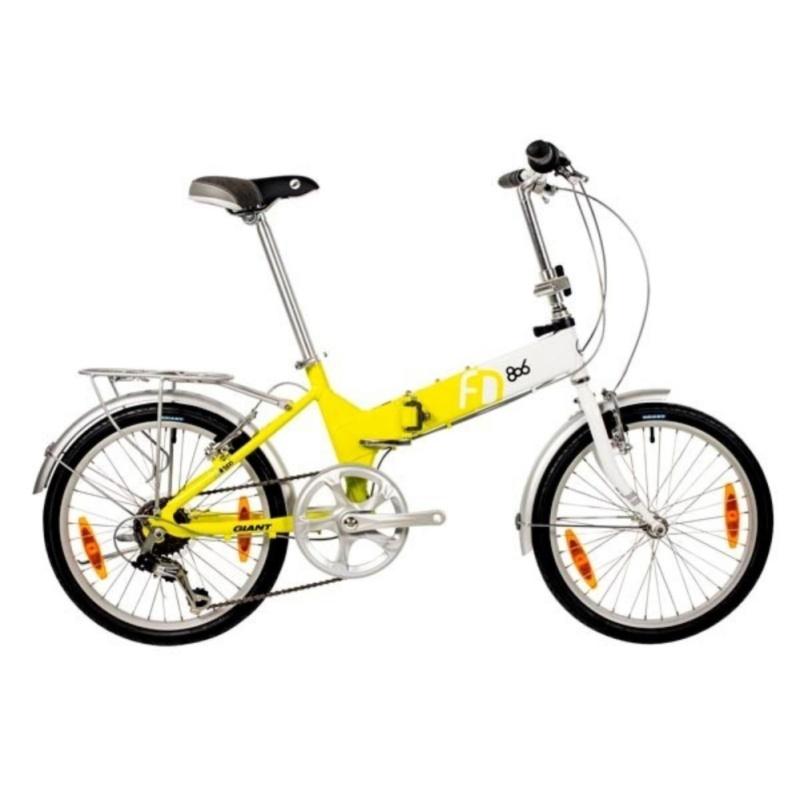 Phân phối Xe đạp gấp Giant FD-806 2017 (vàng)