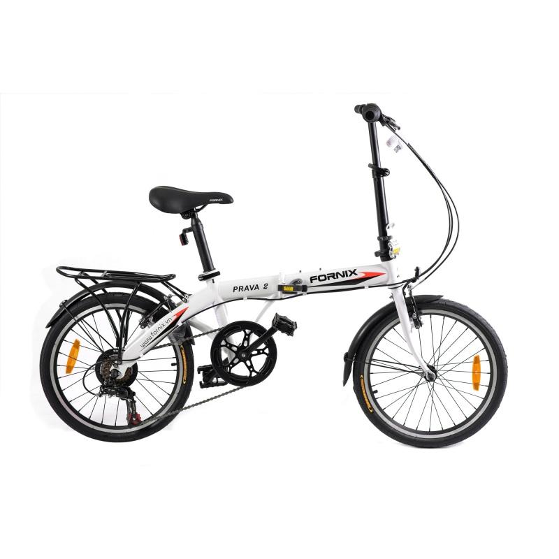 Phân phối Xe đạp gấp hiệu FORNIX, mã PRAVA 2 (Trắng)