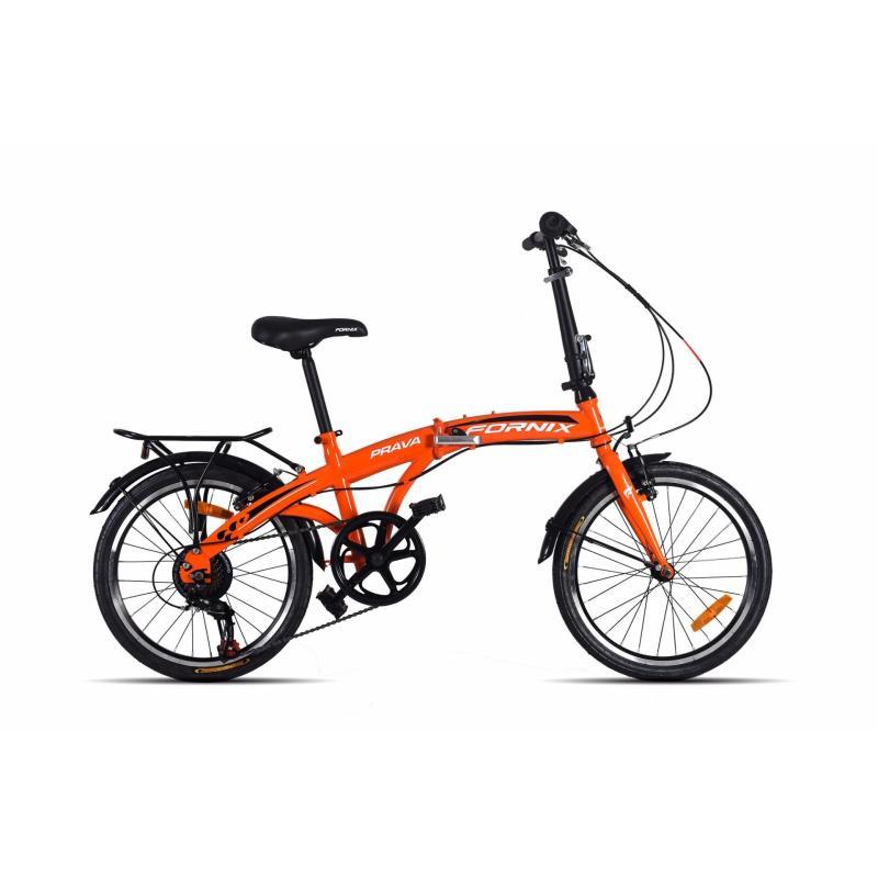 Mua Xe đạp gấp hiệu FORNIX, mã PRAVA  (Cam)