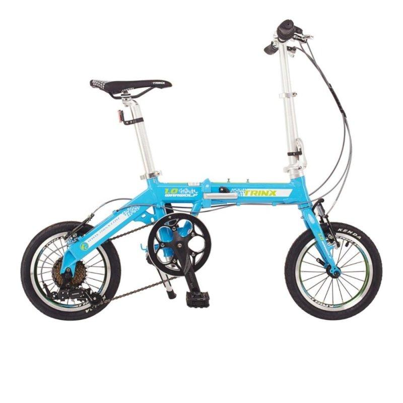 Mua Xe đạp gấp TRINX WARWOLF1.0 2016 (Xanh dương/xl trắng)