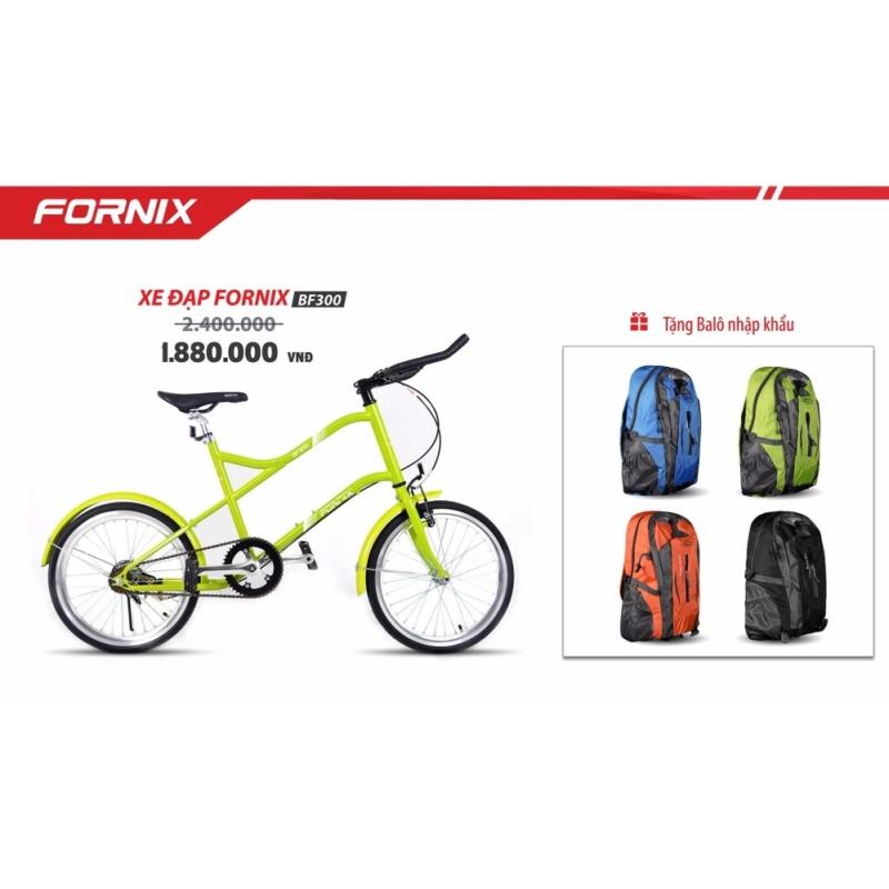Phân phối Xe đạp MINI fixedgear BF300 (cam) + tặng balô nhập khẩu