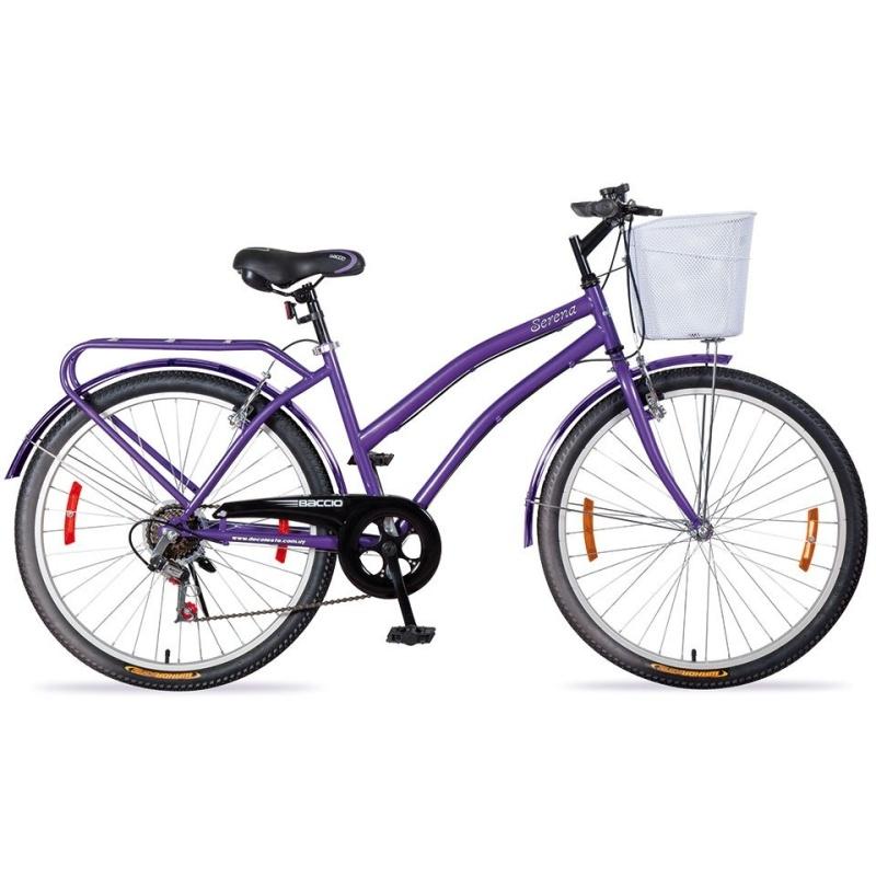 Phân phối Xe đạp thời trang Baccio Serena 26 2016 (Tím)