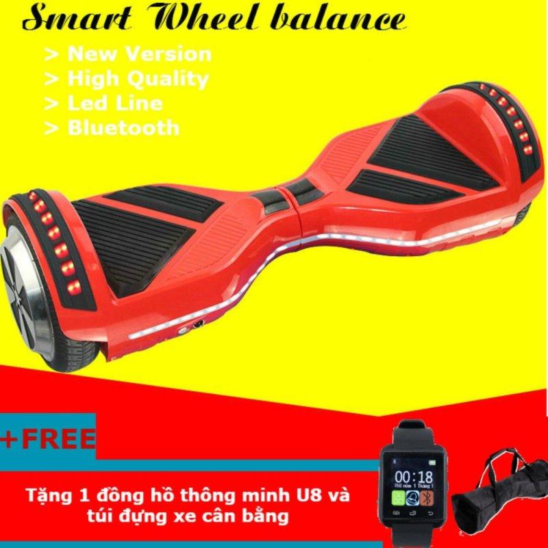 Mua Xe điện cân bằng thông minh Bluetooth V2 + Tặng đồng hồ thông minh U8 và túi đựng xe