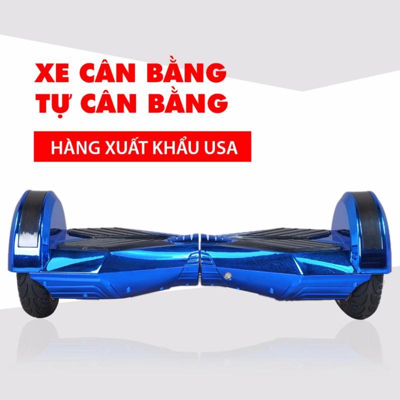 Phân phối Xe điện cân bằng tự cân bằng 8 inch Bluetooth (xanh tím Chrome)