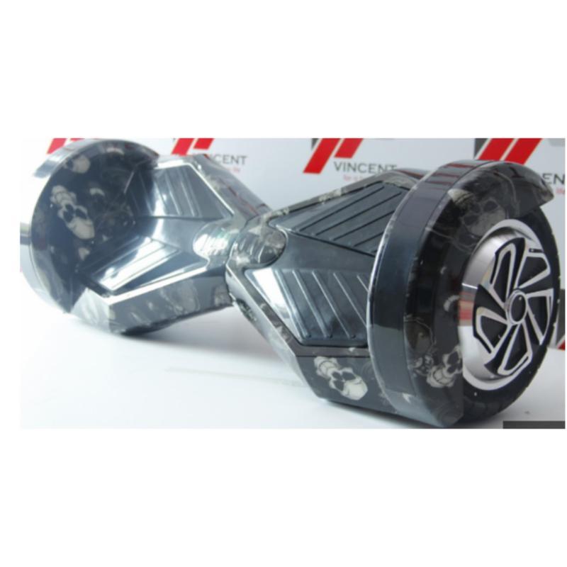 Phân phối Xe tự cân bằng 8 inch bản cao cấp xanh móc xích -AL