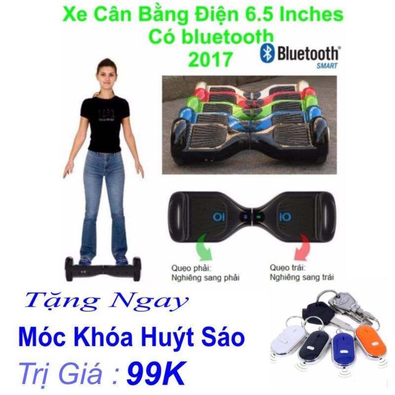 Mua Xe Tự cân bằng điện 6.5 inches Có bluetooth 2017(Đen) Tặng Ngay Móc Khóa Huýt Sáo Trị Giá 99k