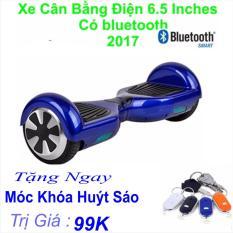 Xe Tự cân bằng điện 6.5 inches Có bluetooth 2017(Xanh) Tặng Ngay Móc Khá Huýt Sáo Trị Giá 99k