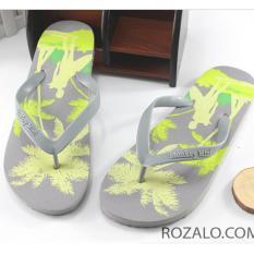 Dép kẹp cao su nam Rozalo RM2993GX - Xám