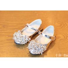 Giày bé gái thời trang RS035 (Bạc)