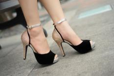 Giày cao gót Lozido - L039 (Đen)