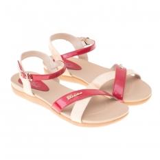Giày cao gót nữ cao 2cm Bitis DRW077000 (Đỏ)