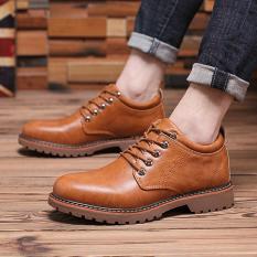 Giày đế cao phong cách cổ điển tăng chiều cao dễ phối đồ 630_màu be