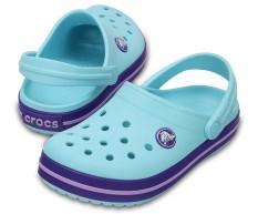 Giày lười bé trai Crocs Crocband Clog K IBlu 204537-4O9 (Xanh ngọc)