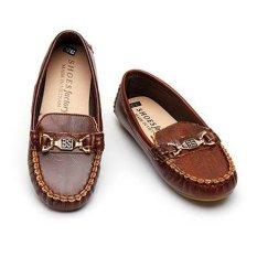 Giày lười cho trẻ em Thanhcongmart (Nâu)