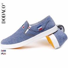 Giày Lười Giày Moi Nam Thời Trang DODACO DDC1824 XA GNA 39 - 44 (Xanh)