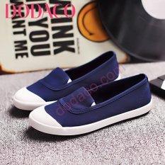 Giày Lười Nữ Thời Trang DODACO DDC1865 (Xanh lam đậm)