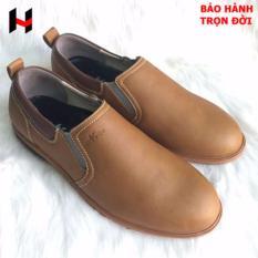 giày nam - giày công sở - giày lười da bò nam (nâu) cung cấp bởi VNHIEU
