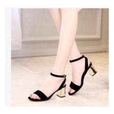 Giày nữ cao gót 7 phân gót vuông - tinh tế phái đẹp