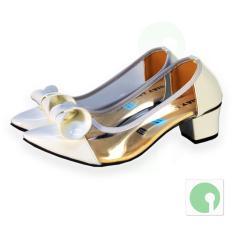 Giày nữ thời trang Delana thanh lịch quý phái - NGL-209TR (Trắng)