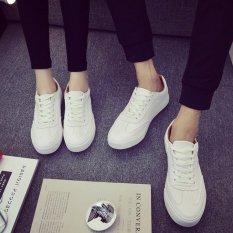 Giày sneaker nam nữ (giày công sở), da mềm đế êm (trắng).