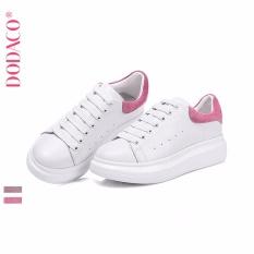Giày Sneaker Nữ Thời Trang DODACO DDC1867 HO GNU 36 - 40 (Trắng Hồng)