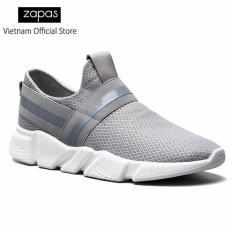 Giày Sneaker Thời Trang Nam Zapas - GS084 (Xám)