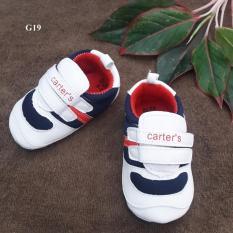 Giày Tập Đi Đế Mềm SPKGI233 - (trắng)