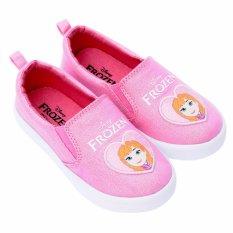 Giày Thể Thao Bé Gái Bitis Frozen Nữ Hoàng Băng Giá DSB121011HOG (Hồng)