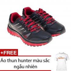 Giày thể thao nam 3cm Bitis DSM589330 (Đỏ) + Tặng 1 áo thun hunter