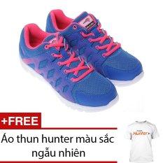 Giày thể thao nữ - HUNTER Bitis DSW051233XAM (Đen) + Tặng 1 áo thun hunter