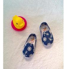 Giày Vải Giả Jeans Cho Bé