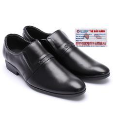 HL7107 - Giày tây nam Huy Hoàng da bò màu đen