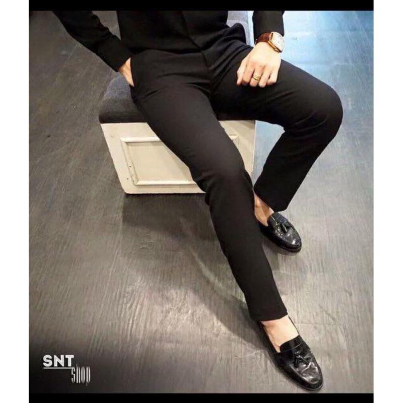 Mua Quần Kaki Nam Ống Côn Lịch Lãm Lyly Fashion (đen)
