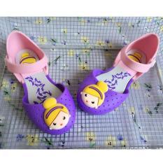 sandal nhựa bé gái