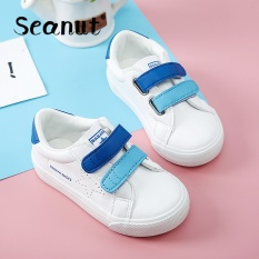 Seanut Childrens Cloth Shoes Fashion Comfortable Casual Sports Shoes (Blue) - intl