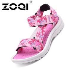 ZOQI Girls Fashion Summer Sandals Casual Shoes (Pink) - intl