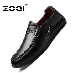 ZOQI Mens Fashion Formal Shoes Low Cut Shoes Casual Shoes(Black) - Intl - intl