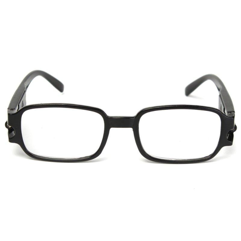 Mua Black Rimmed Reading Glasses With Bright LED Light Spectacles Eyeglasses +2.5 - intl