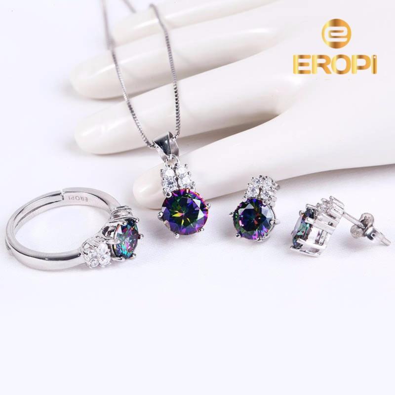 Bộ trang sức bạc Athun Love - Eropi Jewelry