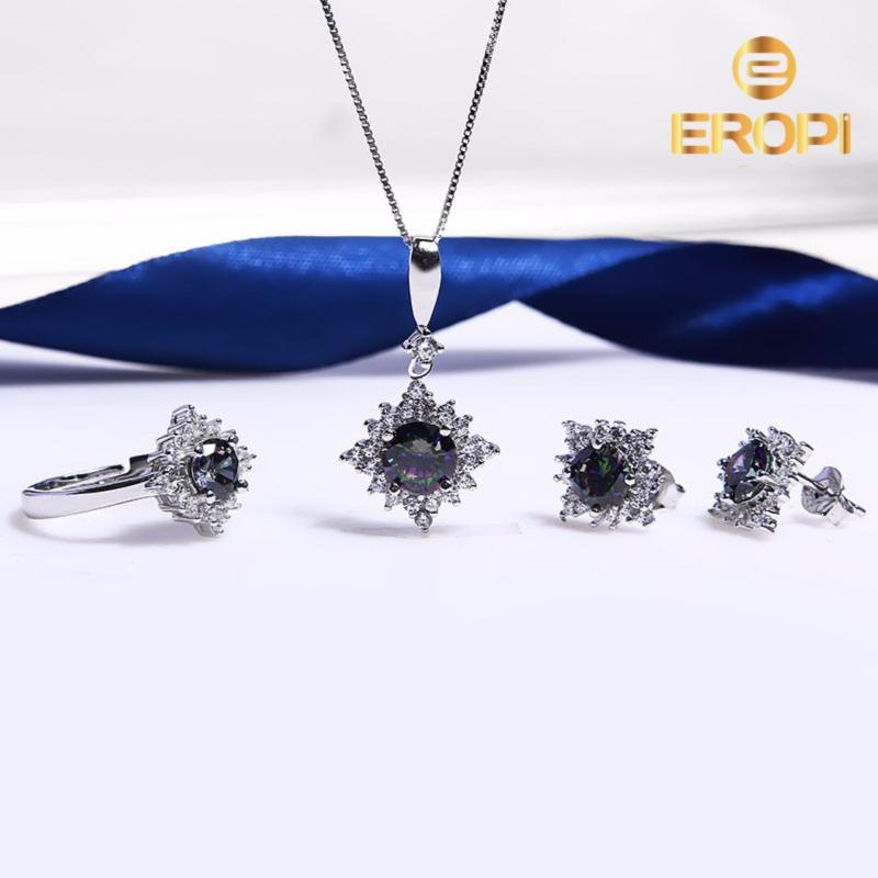 Bộ trang sức bạc Haki Love - Eropi Jewelry