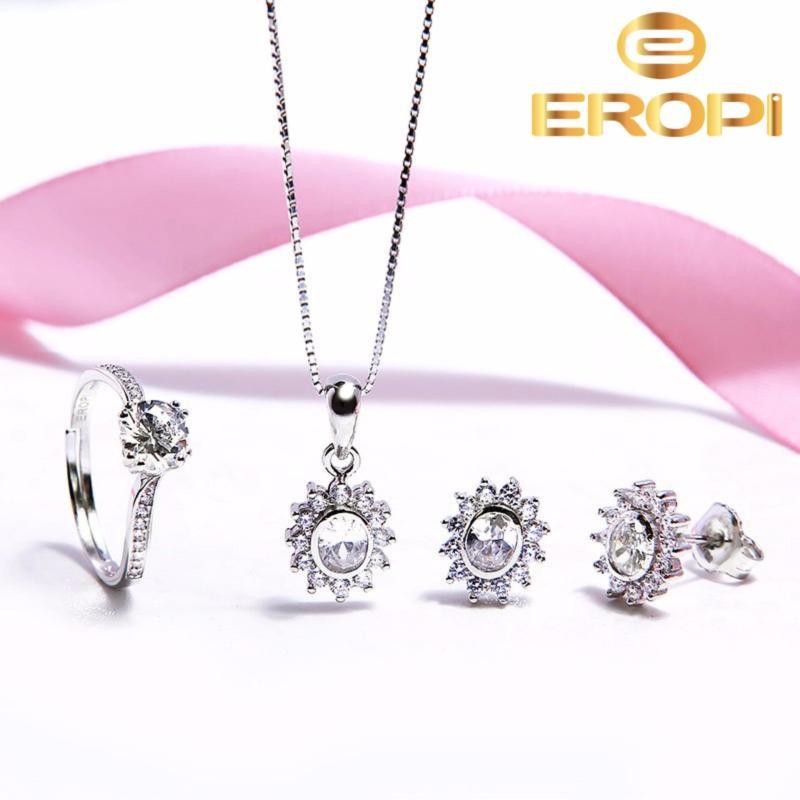Bộ trang sức bạc Sunlight - Eropi Jewelry
