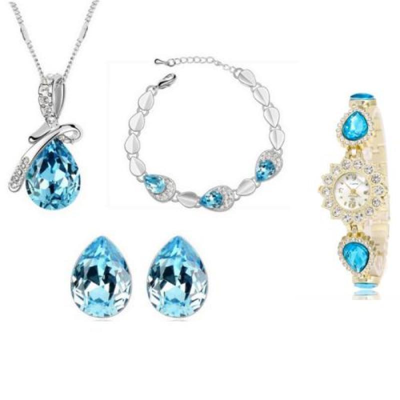 Bộ trang sức đồng hồ nữ thời trang MT05-52480