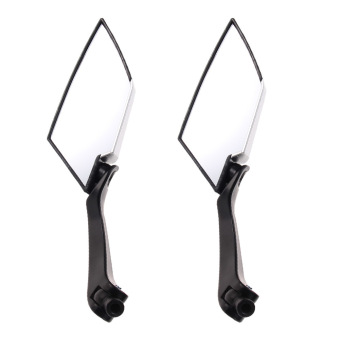 Carbon Custom Side Rear View Mirrors For Motorcycle Honda YamahaSuzuki (Intl)