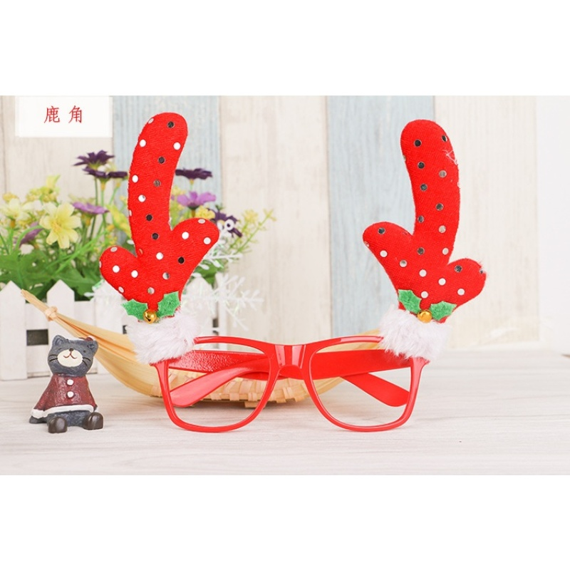 Mua Christmas decorations for Christmas holiday children supplies glasses decoration personality creative gift - intl
