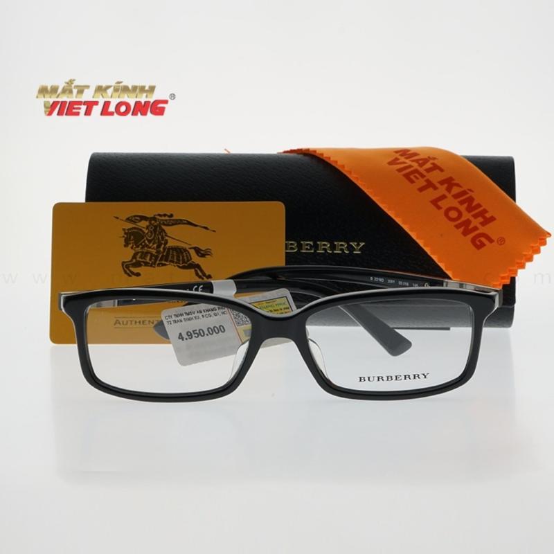 Giá bán Gọng kính Burberry B2218D-3001 55-16(Gọng nhựa màu đen)
